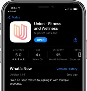 Yoga Barre Mobile App